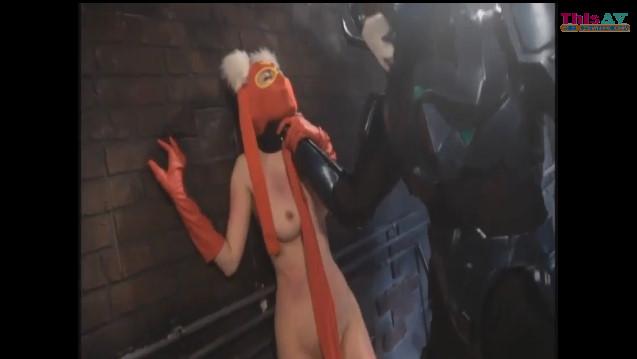 【波多野結衣】悪の組織に捕まりレイプされまくる美巨乳女仮面戦士!