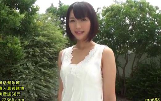 【夏川あかり】デビュー初撮り、ガチガチ♪に固まっているスレンダー美少女。