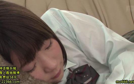 【篠崎みお】女子校生の姪のパンティにチ〇コを擦りつけるエッチな叔父www
