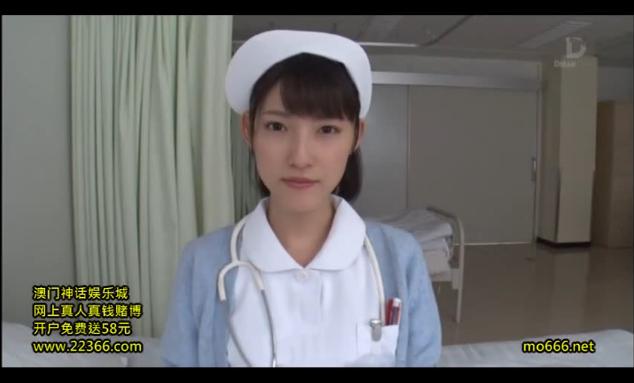 【森沢かな】透明感抜群!清楚な美人看護師さんのガン見フェラ!