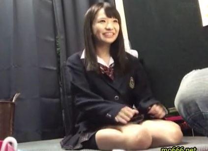 【早乙女夏菜】制服女子校生娘が在籍のリフレに行ってみたwwwめっちゃ可愛い娘でしたwww