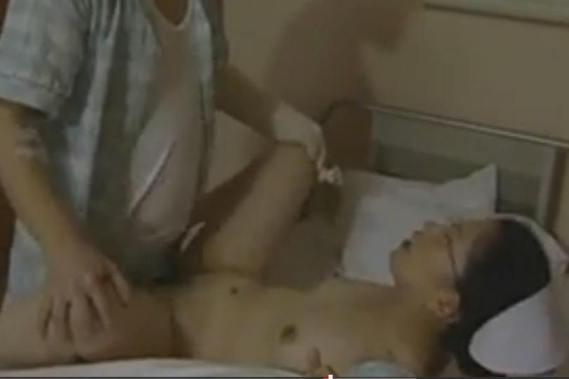 人目を盗んで病室でセックスする美人ナースのエッチな欲情が生々しすぎwww