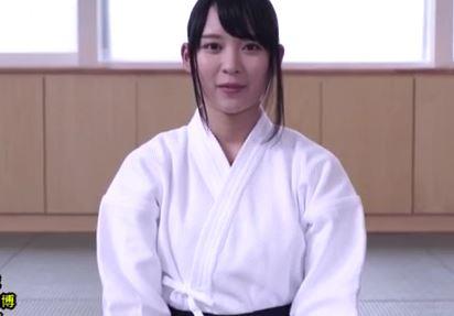 【心花ゆら】黒髪正統派、剣道美少女が胴着着衣のままハメちゃったwww