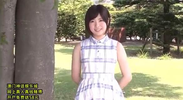 【河野アキ】アイドルでも通用するレベルの美少女JDをガシガシパコって大量生中出しファックw
