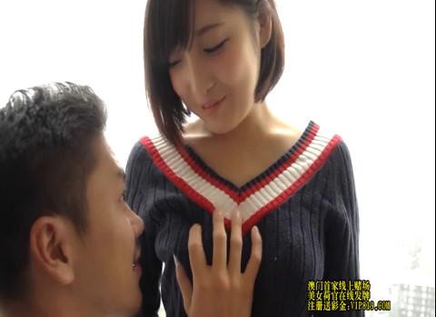 【広瀬うみ】可愛すぎる色白スレンダー美乳ギャルを口説いて真昼間からハメ撮りセックス!