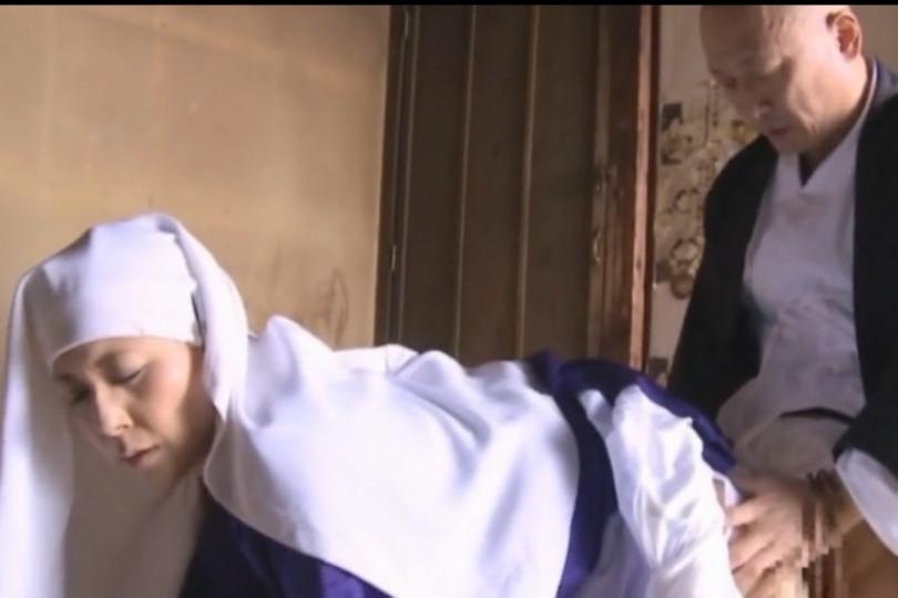 【大田ゆりか】高僧位の尼さんが修行僧バックでパコられちゃう背徳感がハンパない