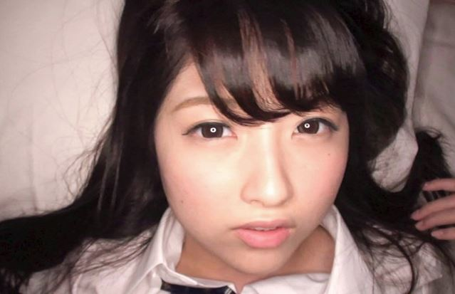 【あおいれな】JK制服のめっちゃ似合う美少女とハメ撮り顔射www