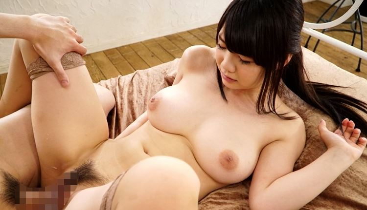 【雛菊つばさ】マングリ返しで肛門付近を舐められて感じる巨乳美少女www