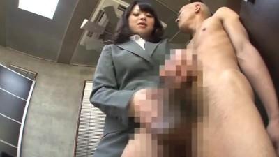 【小桜りく】新人ロリ痴女秘書がイヤらしいエロ技で社員達の仕事をサポート