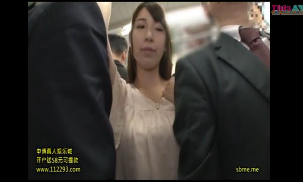 【素人】満員電車で過激過ぎる痴漢w清楚なお姉さんはチンコ入れられ呆然ww