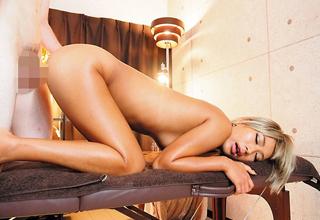 【AIKA】お店に内緒でお客さんと生中出し本番セックスしまくるヤリマンパイパン黒ギャルエステ嬢