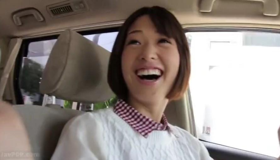 【川上奈々美】ショートカットでクリッとした目の清楚なお嬢様とデート