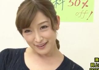 【松井優子】色白スベスベな美乳で俺を挑発してくる美人不動産屋さん。
