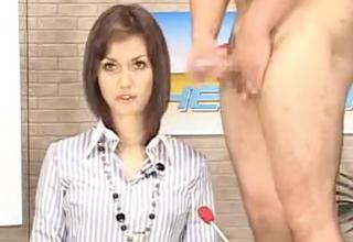 【小澤マリア】生放送でザーメンぶっかけられまくりの美人ハーフキャスター。