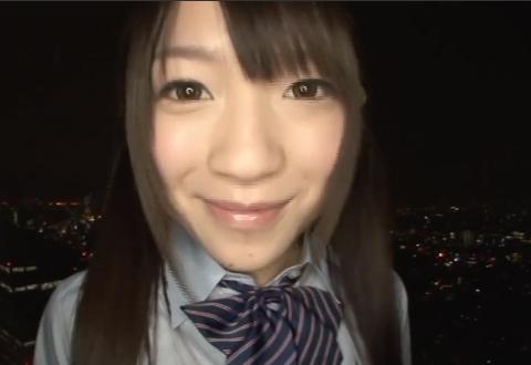 【南梨央奈】ピチピチの18歳とホテルで制服ハメ撮り。
