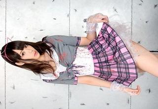 【凰かなめ】スレンダー微乳美少女のパイパンオマ〇コに癒されましょうwww