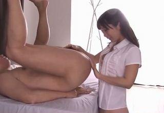 【小島みなみ】チングリ返し男をアナル舐めフェラ&乳首舐め騎乗位で腰振り激エロ女www