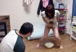 【雪見紗弥】女優訪問企画にて「放尿が見たい」という願いを叶えるwww