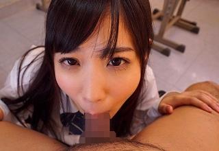 【栄川乃亜】アイドルでも通用するレベルの美少女JKに玉裏や臭いアナルまで舐めさせる変態彼氏