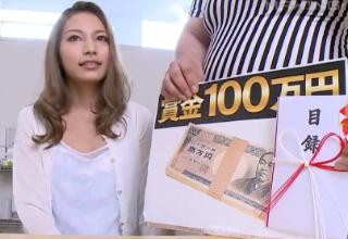 【高井ルナ】ギャル系ハーフお姉さんのイキ我慢!我慢出来れば賞金100万円!!