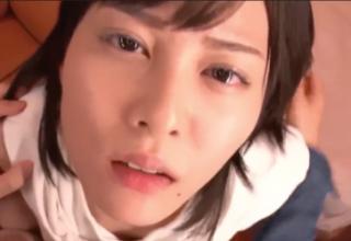 【松岡ちな】Hカップの爆乳美少女がカメラ目線で激しめセックス