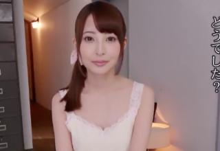 【九重かんな】ピチピチスベスベな19歳の現役女子大生♪美乳で恥ずかしそうにパイズリ