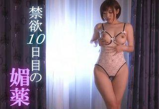 【水野朝陽】媚薬を仕込まれた女優さんがメイクルームでオナニーしてる件www