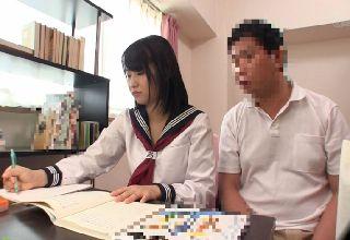 【浅田結梨】純粋な女の子の肉体をまさぐり犯す家庭教師