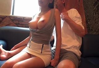【三原ほのか】奇跡のクビレ/美巨乳スレンダー美女とホテルでお下劣ハメ撮りセックス