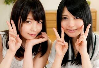 こんな美人姉妹実在したらヤバいなwww可愛いJK妹の濃厚フェラ映像がくそエロいwwww