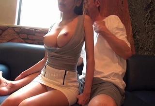 【三原ほのか】エロ過ぎる身体したスレンダー美巨乳美女の極上ハメ撮りビデオ!