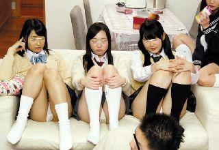 【素人】シェアハウスがなんと女子高生ばかりでヤリまくりの日々!