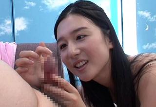 【古川いおり】黒髪美人なAV女優がマジックミラー号で素人ファンとセックス