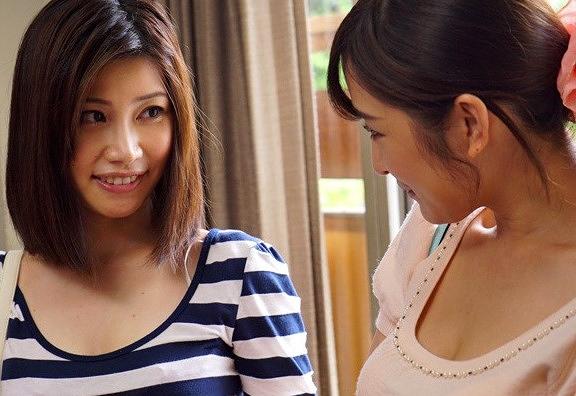 【羽田璃子 松井優子】貸切露天風呂で美人女性客を狙いエロい事しかける変態レズビアン|д゚)wwwww