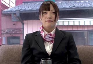 【葉月可恋】お仕事帰りの美人CAさんをマジックミラー号で酔わせてやっちゃう!
