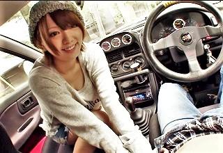 【希美まゆ】こんなエロ企画なのに車で手コキ&フェラするヒッチハイク企画に興奮が止まらないwww