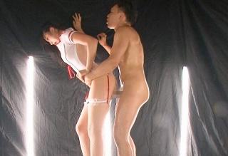 【春川せせら】膣中が敏感すぎるモデル系スレンダー美女が精液まみれのチ●ポを我慢できず生挿入www