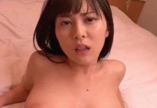 【松岡ちな】爆乳なロリ彼女といちゃいちゃ主観セックス。