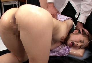 【前田可奈子】パイパンの美人女教師を拘束してお漏らしするまで調教しまくってみた結果・・・