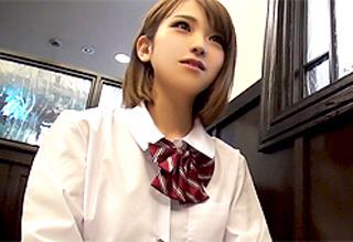 【椎名そら】ノリノリでチンポを咥える円光女子校生とホテルでハメ撮りwww