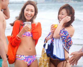 海バカンスで気分上がっている女のガードが激ユルな件www