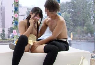 【素人】お金ほしさにやっちゃったw真面目そうな女子大生がMM号で豪快にセックス。