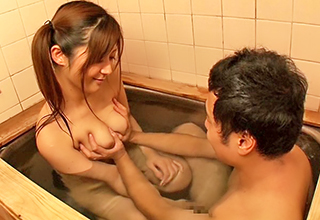 【さとう遥希】巨乳に成長した姪っ子と昔を思い出して一緒にお風呂に入って洗いっこしてたら欲情が止まらなくなりパイズリフェラ抜きさせてみた
