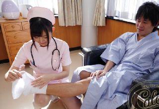 【彩乃なな】入院中の癒しはなんと言ってもかわいいナースの存在