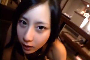 【あずみ恋】JKなのに大人の色気がハンパない美人女子校生とハメ撮りSEX