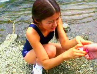スク水の似合う少女とのひと夏の白濁のおもひ出の映像記録w
