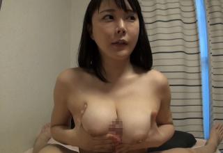 【羽生ありさ】巨乳&デカ尻!エログラマラスボディなパイパンお姉さんとハメ撮り!