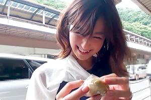 【舞ワイフ】笑顔が無邪気な三十路人妻と箱根不倫旅行