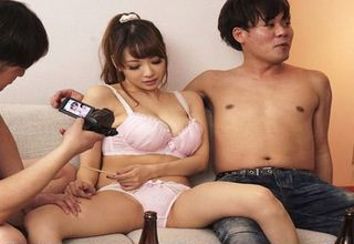 【RION】大学生サークル飲み会にて爆乳新入生に酒を飲ませてハメちゃったw