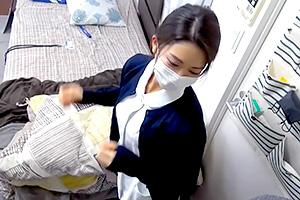 【パコキャス!】ガチの現役看護師が仕事帰りにヤリ部屋に連れ込まれSEX配信!